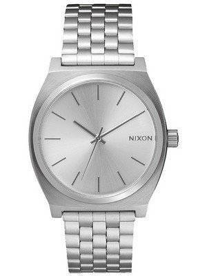 Relógio Nixon Time All Silver A045-1920-00 Men Watch