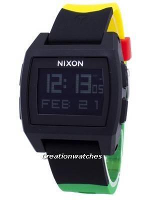 Nixon Base Tide Digital A1104-1114-00 Quartz Men\'s Watch