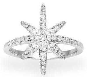 APM MONACO A15734OX-50 Meteorites Statement Silver Women\'s Ring