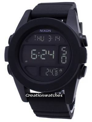 Nixon Unit Dual Time Alarm Digital A197-000-00 Men\'s Watch