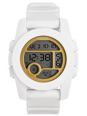 Nixon Unit 40 Dual Time Alarm Digital A490-1035-00 Women's Watch
