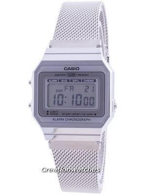 Casio Youth Vintage Daily Alarm Quartz A-700WM-7A A700WM-7A 100M Women\'s Watch