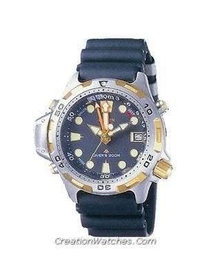 Citizen Ladies Diver Promaster Analog Aqualand AL0024-06E AL0024