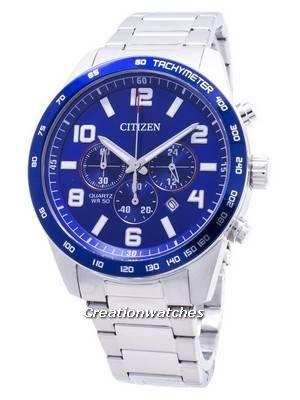 Relógio Citizen Chronograph AN8161-50L Tachymeter Quartz Masculino