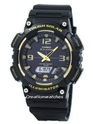 Casio Tough Solar 5 Alarms 100M AQ-S810W-1A3V AQS810W-1A3V Men's Watch