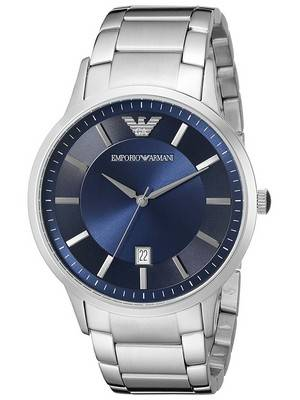 Emporio Armani Classic Quartz AR2477 Men's Watch: Masculine Swaggers To Your Everyday Look