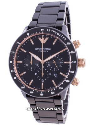 Emporio Armani Ceramica Mario Chronograph Quartz AR70002 Men\'s Watch