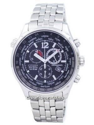 Citizen Eco Drive Men's Chronograph World Time AT0360-50E AT0360