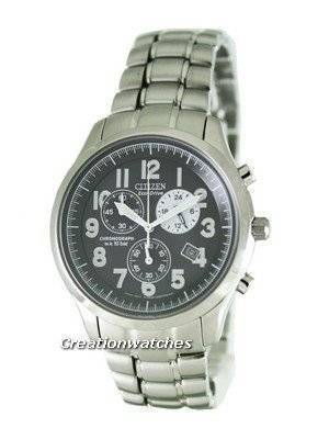 Citizen Eco Drive Chronograph AT0370-56E Mens Watch