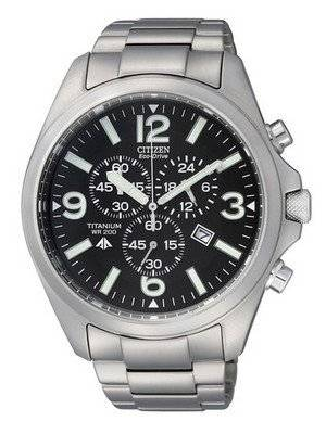 Citizen Eco-Drive Promaster Chronograph Titanium AT0660-64E AT0660 Men\'s Watch