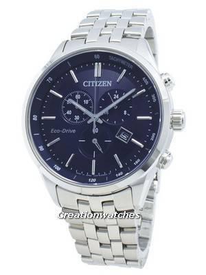 Relógio Citizen Eco-Drive AT2140-55L para taquímetro