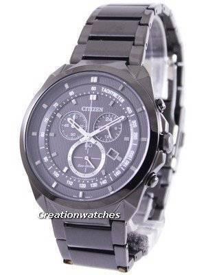 Citizen Eco Drive Chronograph AT2155-58E Mens Watch