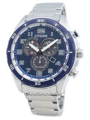 Citizen AR AT2440-51L Eco-Drive Tachymeter Men's Watch