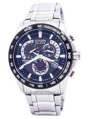 Citizen Atomic Perpetual Chronograph Eco-Drive AT4008-51E Mens Watch