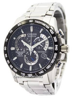 Citizen Eco-Drive Perpetual Calendar AT4010-50E Titanium Men's Watch