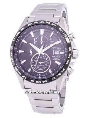 Citizen Eco-Drive Radio Controlled Chronograph AT8154-82E Men's Watch