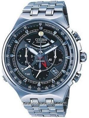 ceb81c18fc8 Relógio Citizen Promaster Titanium Eco-Drive cronógrafo AV0020 - 55h AV0020  masculino