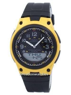 Casio Illuminator World Time Analog Digital AW-80-9BV AW80-9BV Men's Watch