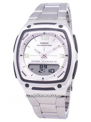 Casio Analog Digital Telememo Illuminator AW-81D-7AVDF AW81D-7AVDF Men's Watch