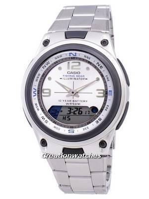 Casio Analog Digital Out Gear Fishing Illuminator AW-82D-7AVDF AW82D-7AVDF Men's Watch