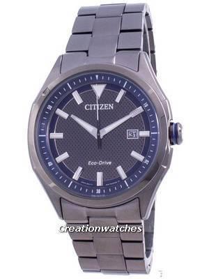 Citizen WDR Eco-Drive Blue Dial AW1147-52L 100M Men\'s Watch