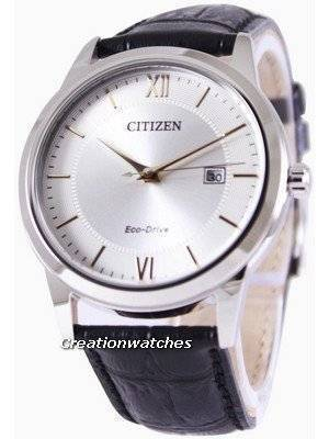 Citizen Eco-Drive Silver Dial AW1236-11A Men's Watch