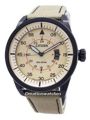 Citizen Eco-Drive Aviator Power Reserve AW1365-19P Men's Watch