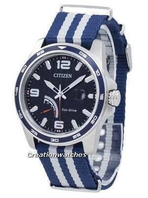 Citizen PRT Eco-Drive Power Reserve AW7038-04L Men's Watch