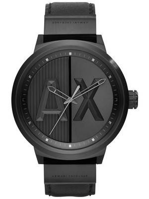 Armani Exchange Quartz ATLC Black Dial AX1366 Men's Watch