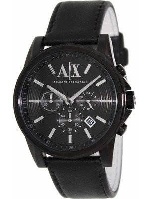 Armani Exchange Chronograph Black Dial AX2098 Men's Watch
