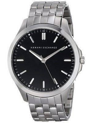 Armani Exchange Black Dial Stainless Steel AX2147 Men's Watch