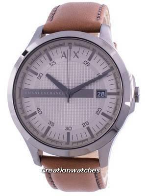 Armani Exchange Hampton Grey Dial AX2414 Quartz Men\'s Watch