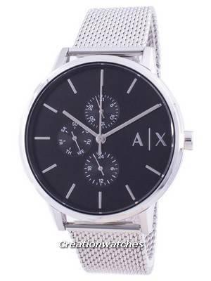 Armani Exchange Cayde Black Dial AX2714 Quartz Men\'s Watch