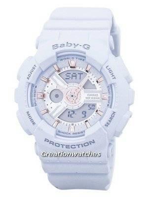 173e0ecd46e4 Reloj Casio Baby-g mundial tiempo alarma analógica Digital BA-110GA-8A de