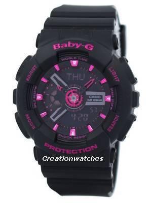 Casio Baby-G World Time Analog-Digital BA-111-1A BA111-1A Women's Watch