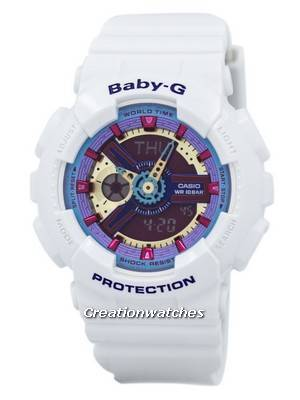 Casio Baby-G Analog Digital Multi-Color Dial BA-112-7A Women\'s Watch