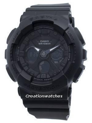 Casio Baby-G BA-130-1A BA130-1A World Time Quartz Women's Watch
