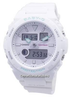 Casio Baby-G G-Glide BAX-100-7A BAX100-7A Maré Gráfico Mulheres Relógio