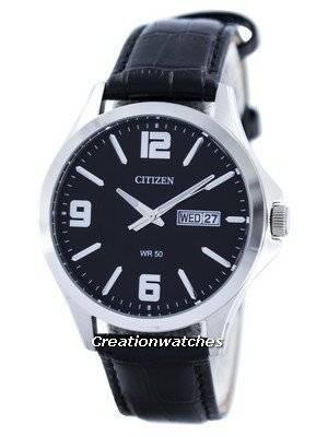 Citizen Quartz Black Dial BF2001-04E Men's Watch