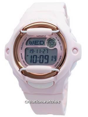 Relógio Casio Baby-G BG-169G-4B Hora Mundial 200M para Mulher