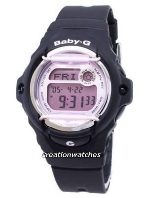 Casio Baby-G BG-169M-1 BG169M-1 tempo do mundo resistente ao choque 200M Assista