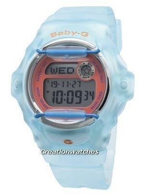 Relógio Feminino Casio Baby-G BG-169R-2C Hora Mundial 200M