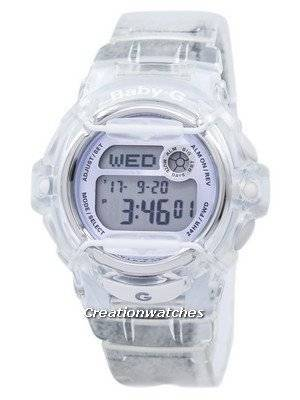 Casio Baby-G Shock Resistant Digital World Time Quartz BG-169R-7E BG169R-7E Women\'s Watch