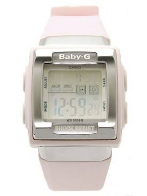 Casio Baby-G Alarm WR 100m Ladies Watch BG-180-4DR