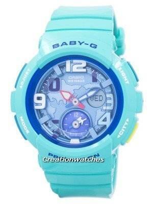 Casio Baby-G World Time Dual Dial Analog Digital BGA-190-3B BGA190-3B Women's Watch