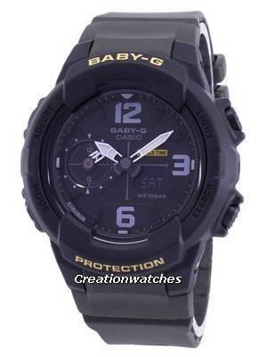 Casio Baby-G Shock Resistant World Time Analog Digital BGA-230-3B BGA230-3B Unisex Watch