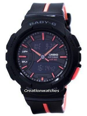 Casio Baby-G Shock Resistant Dual Time Analog Digital BGA-240L-1A Women\'s Watch