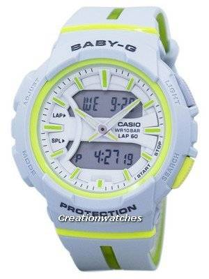 Casio Baby-G Shock Resistant Dual Time Analog Digital BGA-240L-7A BGA240L-7A  Women's Watch