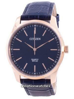 Citizen Blue Dial Calf Leather Quartz BH5003-00L Men\'s Watch