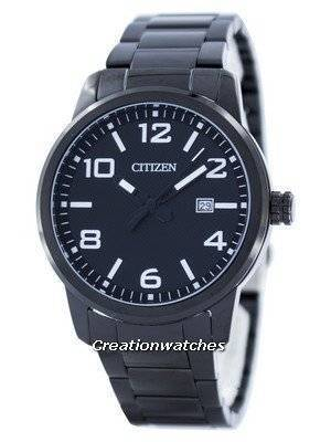 Citizen Quartz Black Dial BI1025-53E Men's Watch